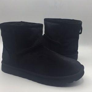 UGG Velvet Mini Bailey Suede Wool Boots